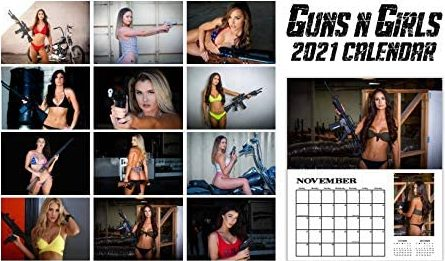 Guns n Girls 2021 Calendar